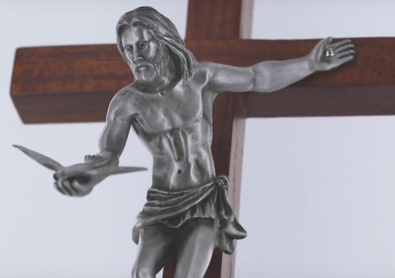 Le crucifié donne l'Esprit