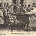 Les petits métiers disparus des rues parisiennes et autres...