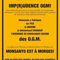 Monsanto est à morges!! -> action!