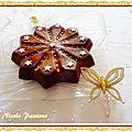Gâteau yaourt aux framboises, litchis, kiwis, le tout en étoile....