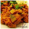Colombo de poulet - weight watchers -