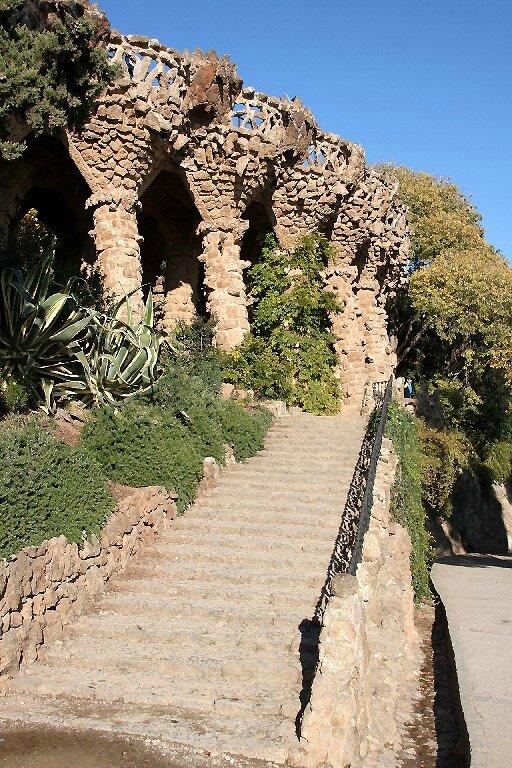 Barcelone, Park Güell 2_5512
