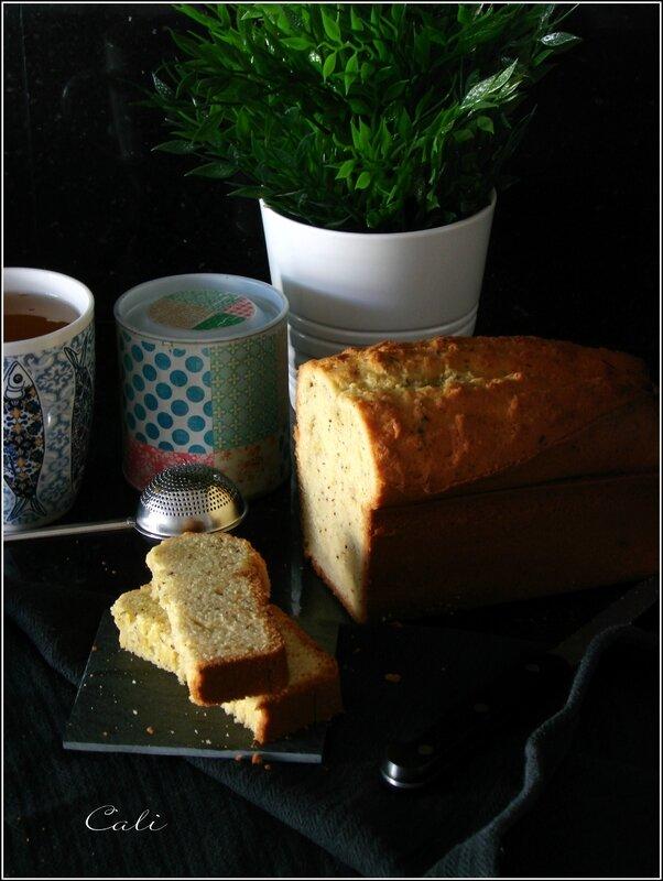 Cake au Thé Vert & à la Vanille 002