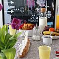 Le petit déjeuner d'anniversaire : sacrés français !