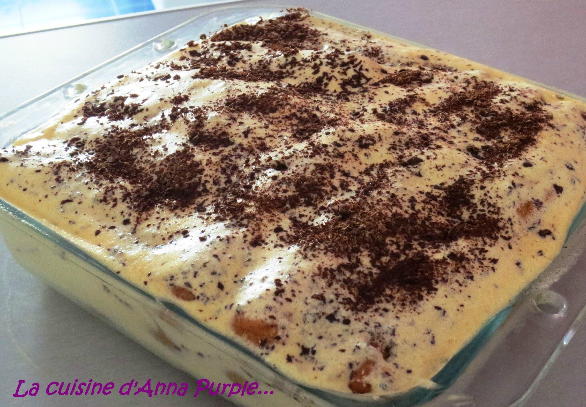 Tiramisu au chocolat pour les kids - LA CUISINE DANNA PURPLE
