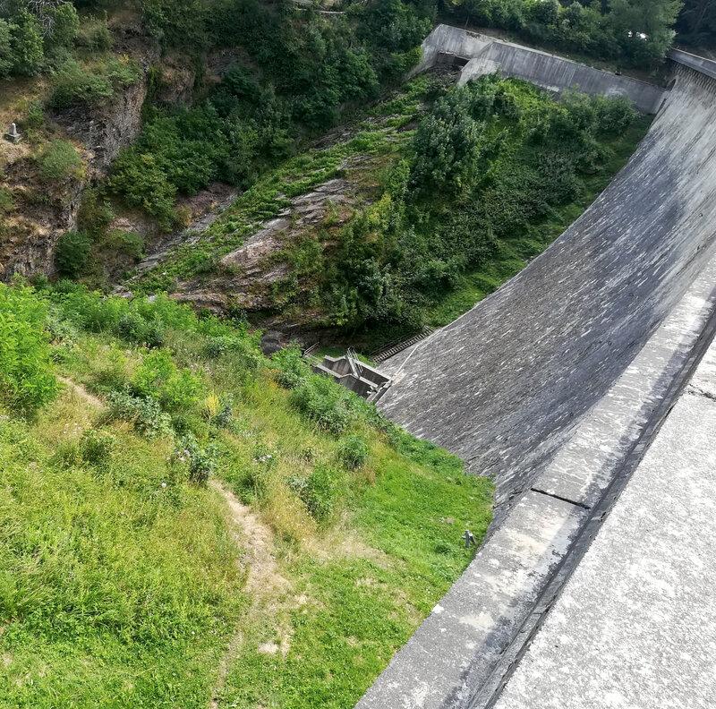 barrage de la Rive, en aval (3)