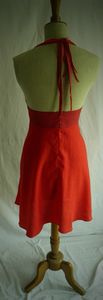 robe marilyne dos rouge t36