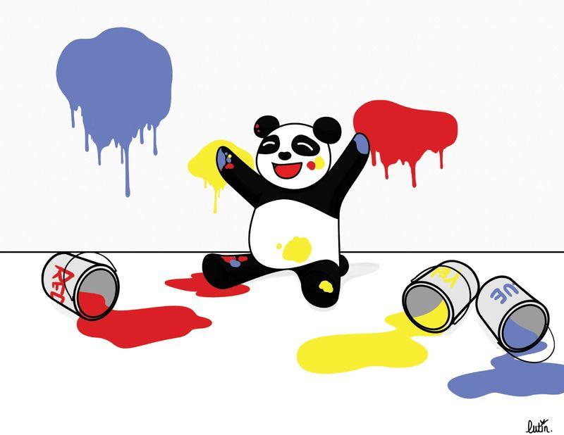 PandaPeinture