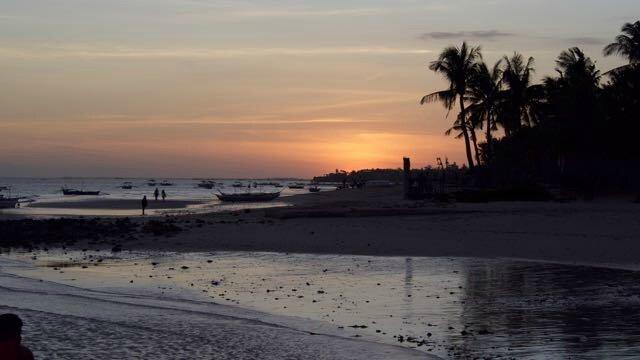 coucher de soleil Bantayan