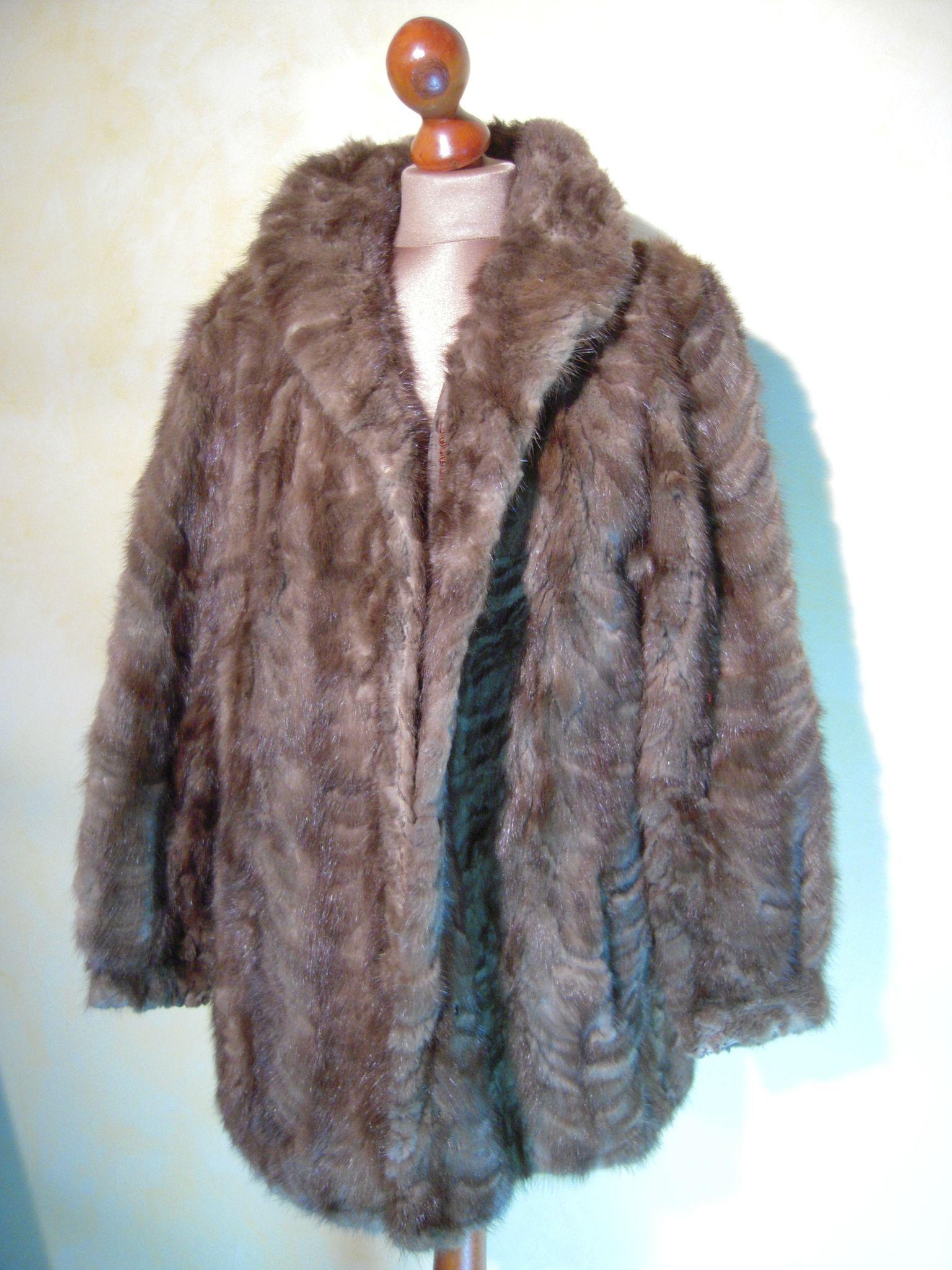 comment choisir modélisation durable trouver le prix le plus bas M057 : Manteau vison T.40 - les fripes de loulie sont chics