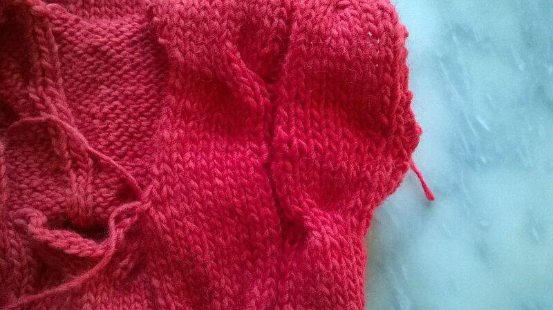 Tunique rouge avant finitions (4)