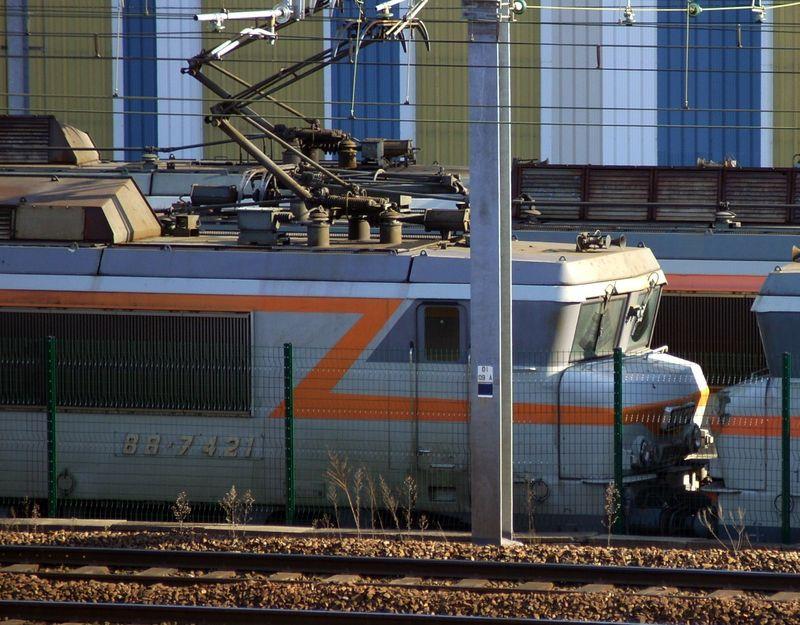 BB 7421, dépôt de Bordeaux