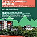 Samedi 13 mai à 11h00 : les éco-rencontres urbaines