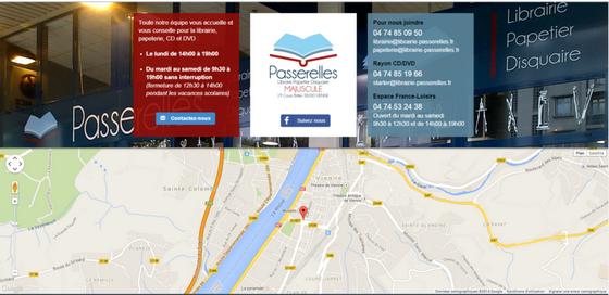 LIBRAIRIE PASSERELLES APPERITIF LITTERAIRE DU 24 SEPEMBRE 2015 - LIBRAIRIE SITUATION DANS VIENNE