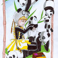 La colonie de Pandas