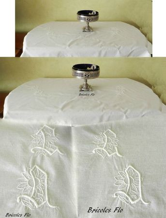 Nappe monogramme 5
