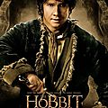 The Hobbit Desolation of Smaug Bilbo poster