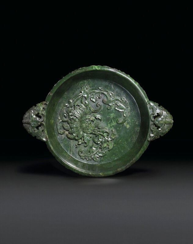 2019_CKS_17114_0132_000(a_finely_carved_spinach-green_jade_marriage_bowl_qianlong_period)