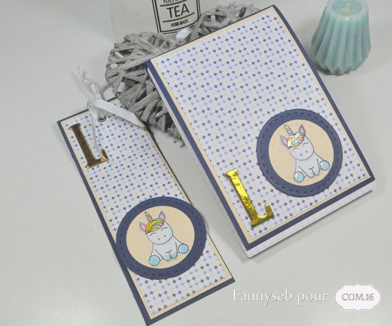 bloc note et marque page fannyseb 2 collection kate papiers COM16