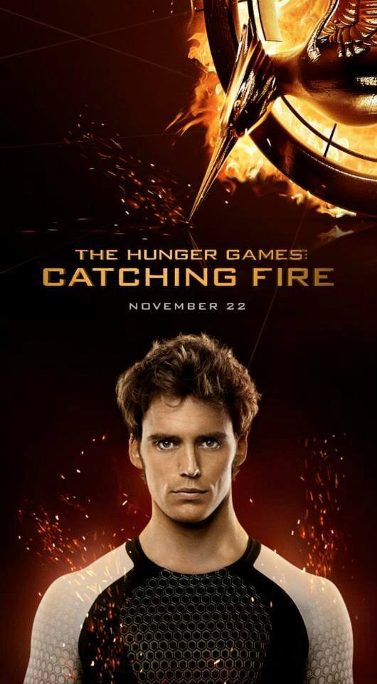 Finnick Odair Catching Fire poster