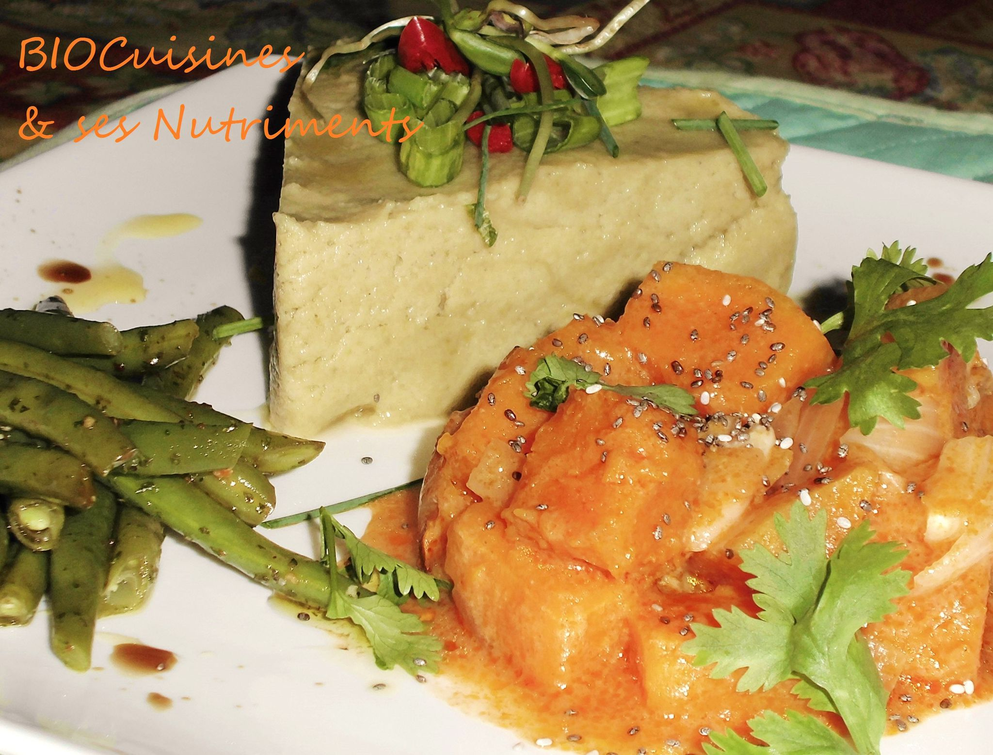 courge au curry rouge lait coco
