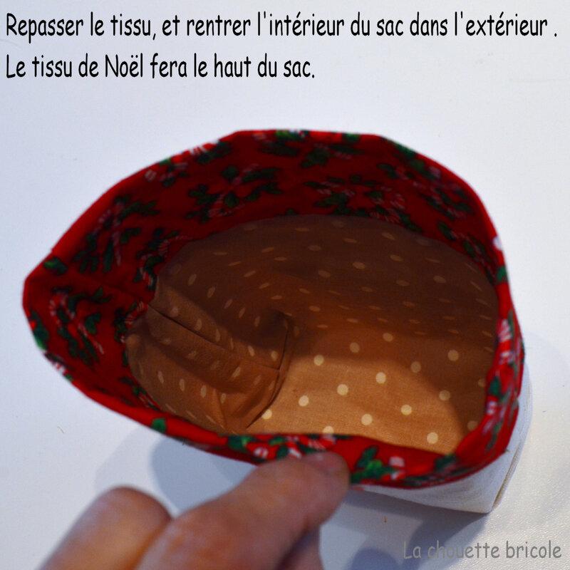 Sac de Noël-Pochette 12