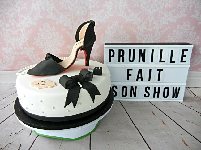 gateau escarpin prunillefee