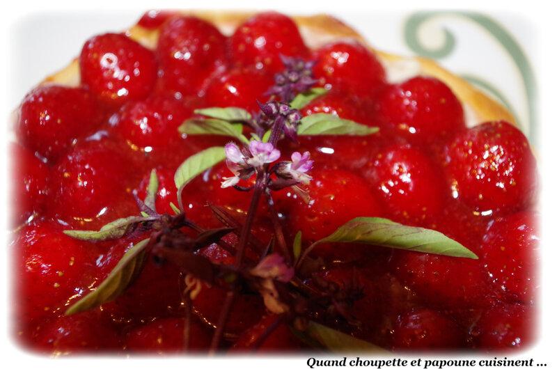 tarte aux fraises crème pâtissière-5201