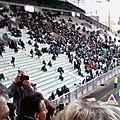 le kop sud 1 heure avant le match