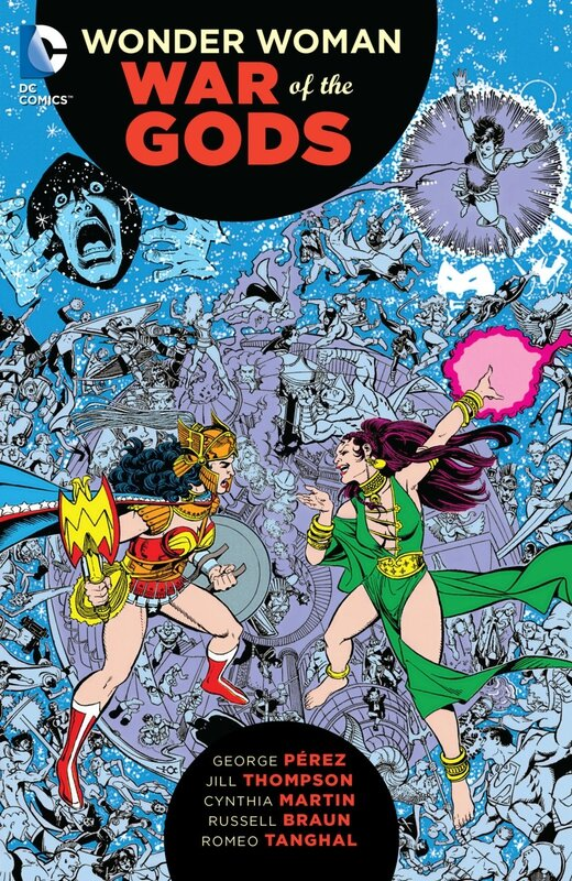 wonder woman war of the gods TP