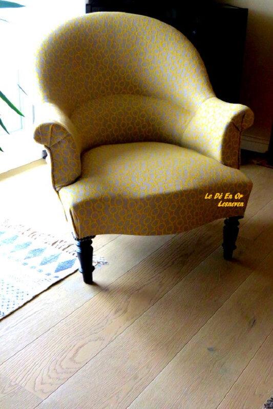 Joli le petit crapaud par tapissier Le Dé En Or
