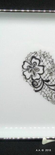 1-VIDE poche coeur dentelle