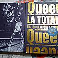 Queen - tours programme, livres, vidéos, objets divers