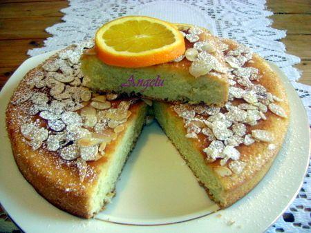 Gâteau mousseline à l'orange 030