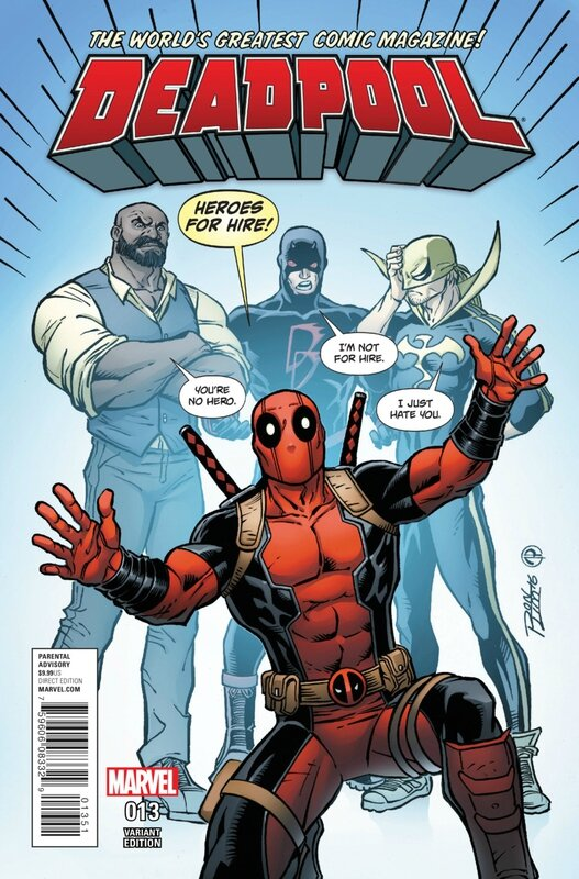 deadpool V5 13 ron lim variant