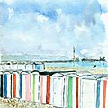 Page 42 cabanes de plage peintes par Karel Martens 2017