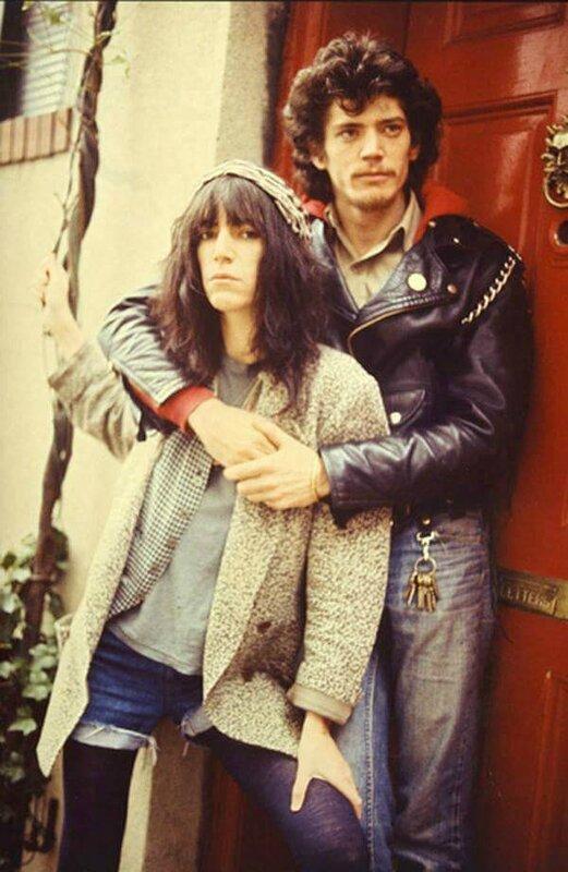 Patti Smith et Robert Mapplethorpe