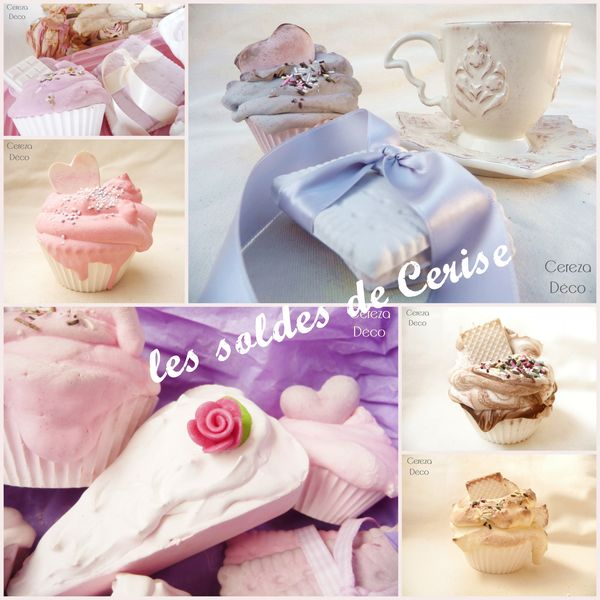 solde cupcake parfum d'armoire sweet table cereza deco