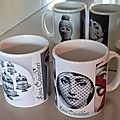 Mugs inspiration fornasetti...