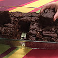 Brownies végans aux noisettes