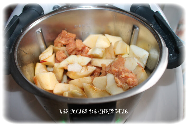 Compote pommes coings 1