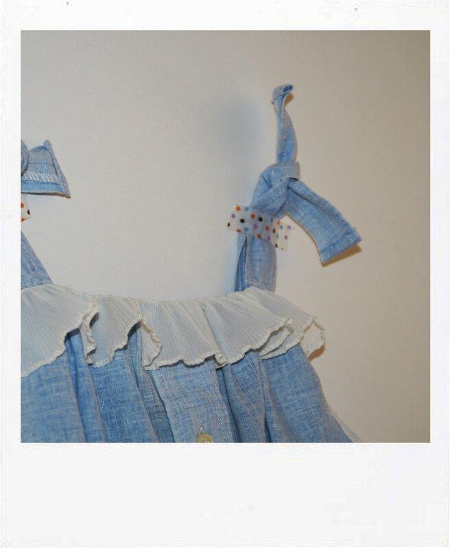 robe chambrai detail