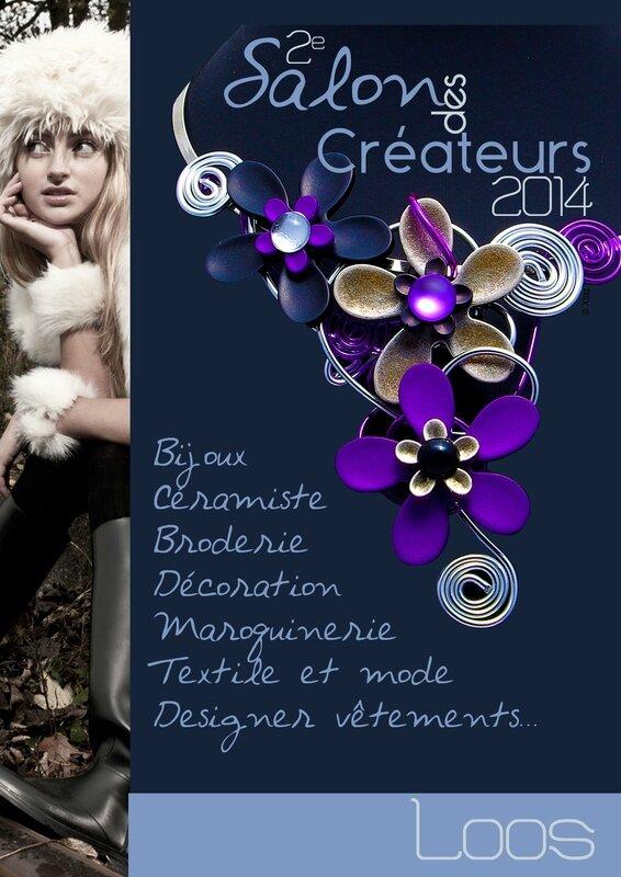 flyer recto salon createurs 2014