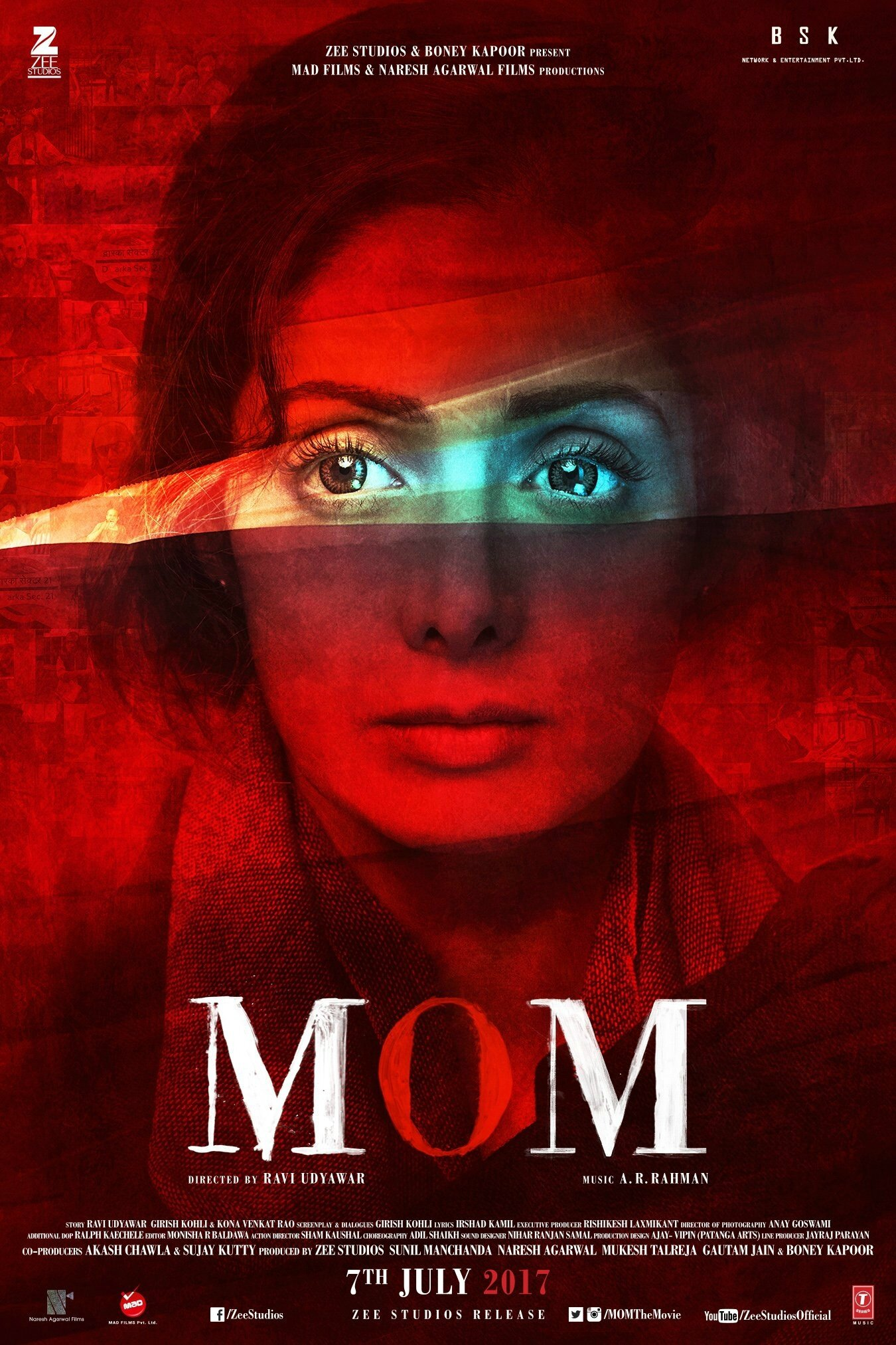 "NOUVEAU FILM POUR SRIDEVI ""MOM"" / UPCOMING MOVIE SRIDEVI TEASER TRAILER ""MOM"" 2017"