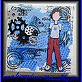 Canvas garçon (bleu)