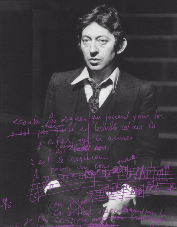 manuscrits_gainsbourg