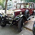 ROLLS ROYCE Phantom I Sedanca Limousine Barker 1927 Baden Baden (1)