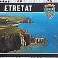 Etretat datée 1983