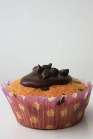 CUPCAKE PEPITE DE CHOCOLAT