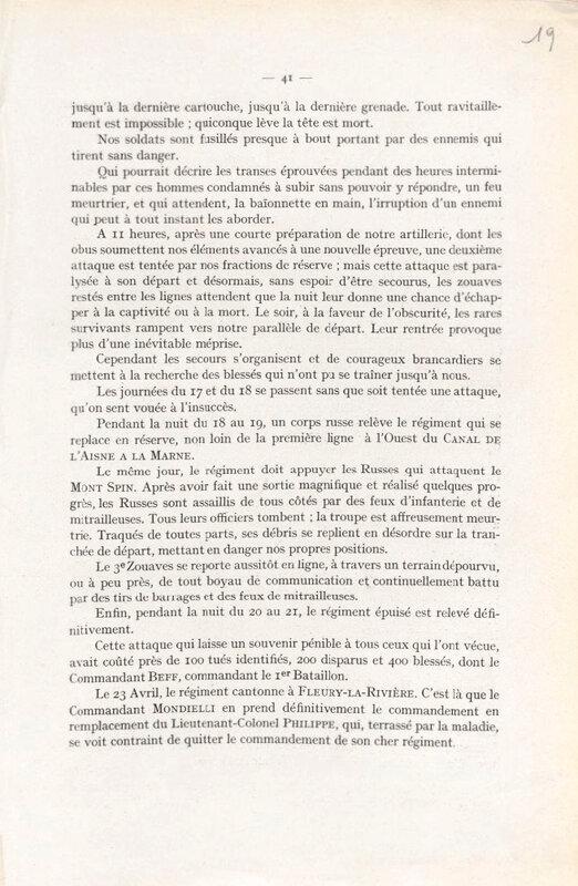Historique du 3e Zouaves (5)